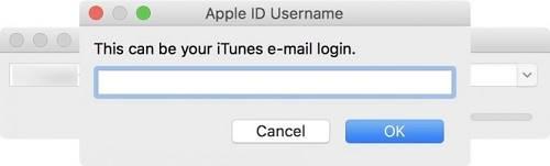تسجيل الدخول باستخدام حساب ابل