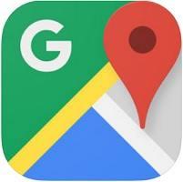 ايقونة تطبيق خرائط جوجل