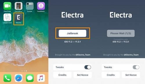 تثبيت جيلبريك iOS 11.3.1