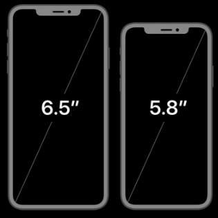 الفرق بين آيفون XS و XS Max في الحجم