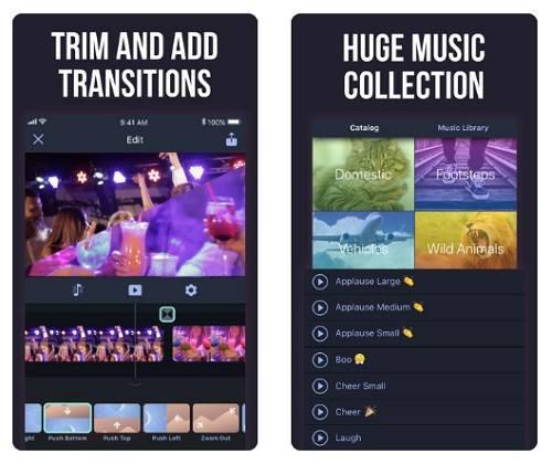 افضل برنامج تصميم فيديو للايفون لاضافة الموسيقى في الخلفية Add Background Music To Video