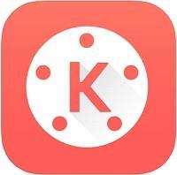 ايقونة افضل تطبيق تصميم فيديو للايفون 10 KineMaster
