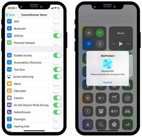 تطبيق BioProtect X لحماية التطبيقات على iOS