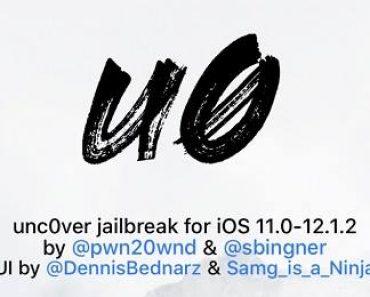 تحديث برنامج جلبريك Unc0ver لدعم الآيفون XS والآيفون XR