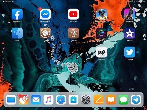 جيلبريك iOS 12.4 للآيباد 6