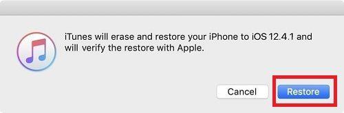 إلغاء تحديث iOS 13 و العودة إلى iOS 12.4.1