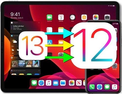 طريقة إلغاء تحديث iOS 13 و العودة إلى iOS 12.4.1