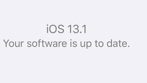 "Photo of تحميل تحديث iOS 13.1 للآيفون والآيبود ""إصدار نهائي"""