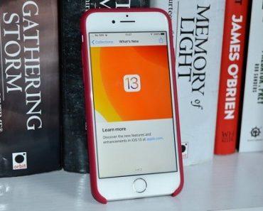 مشاكل تحديث iOS 13 وطرق حلها