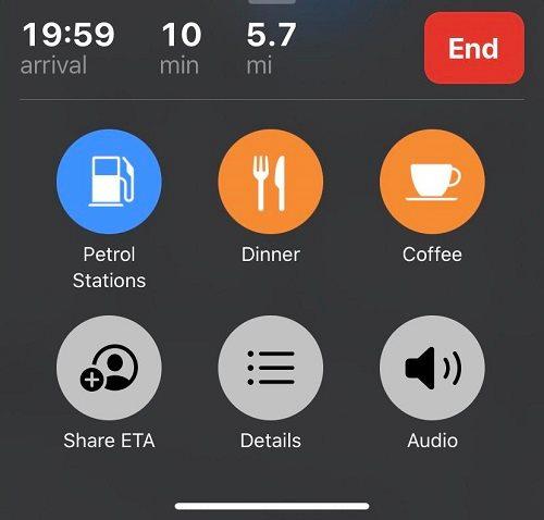 مشاركة المقاهي والمطاعم على خرائط آبل iOS 13.1