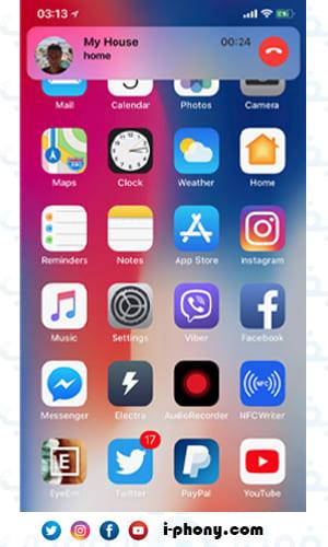 أداة CallBar للرد على المكالمات من داخل أي تطبيق