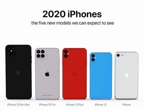 5 آيفونات جديدة من Apple سنة 2020