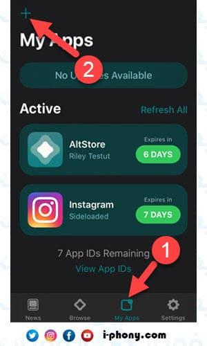 طريقة تحميل التطبيقات من متجر AltStore للآيفون