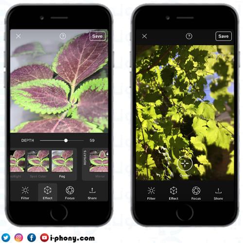 تجريب تطبيق PopPic في التقاط مجموعة من الصور ثلاثية الأبعاد باستخدام الايفون