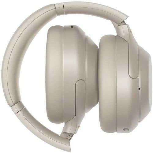 تصميم سماعة سوني wh-1000xm4 باللون الفضي