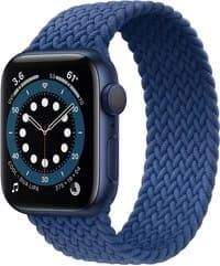 ساعة آبل الجديدة الجيل السادس اللون الأزرق