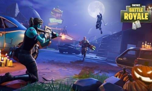 لقطة شاشة من لعبة فورت نايت