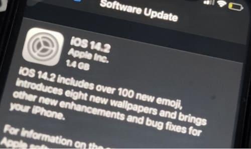 أبرز مشاكل الايفون بعد تحديث iOS 14.2 نفاذ البطارية بسرعة