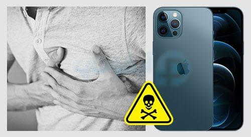 أيفون 12 قد يسبب وفاتك إن كنت تستعمل جهاز إزالة الرجفان لتنظيم دقات القلب