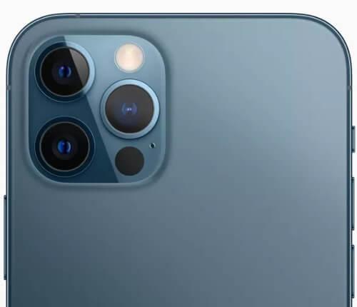 كاميرا أيفون 12 برو ماكس