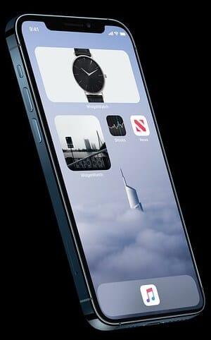 مشكلة في نظام التشغيل iOS 14 widget