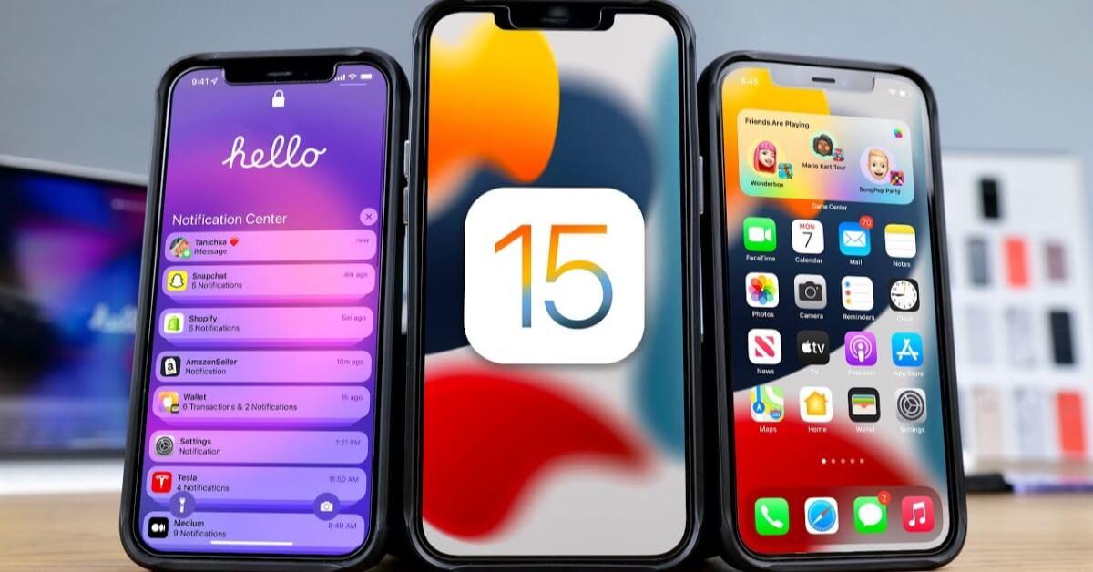 المزايا الجديدة في iOS 15
