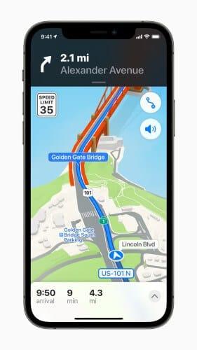 خرائط أبل Apple Maps