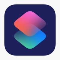 أيقونة تطبيق الإختصارات Shortcuts app icon
